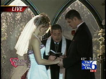 Wedding Whim: Brian & Jennifer Exchange Vows