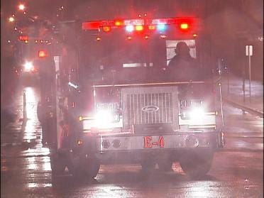 Electrical Fire Interrupts Production Of Tulsa World