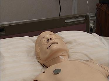 Robot Gives Nursing Students A Leg Up