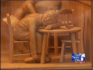 Woodcarving A Lifelong Enjoyment For Local Man