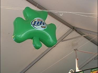 No Tent Concerns For St. Paddy's Day