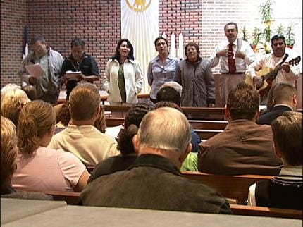 Tulsa Church Conducts Multicultural Easter Service