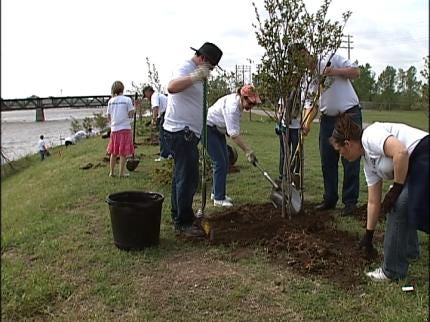 City Working To Replace Tulsa Trees