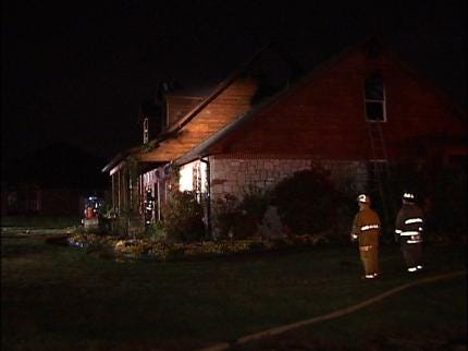 Glenpool Home Damaged By Fire