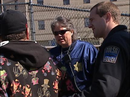 Grant Helping Tulsa Police Protect Homeless