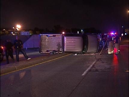 Tulsa Traffic Accident Sends One To Hospital