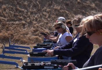 More Women Aim to Carry Handguns