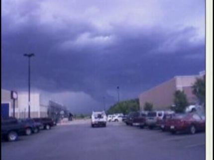 Thunderstorms Roll Across Northeast Oklahoma