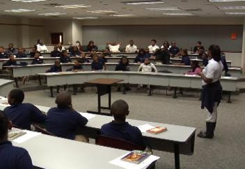 K.I.P.P. Prep Students Inspired By Visit To OSU Tulsa