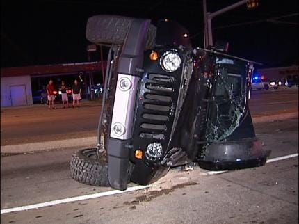Tulsa Police Work Two Accidents Overnight