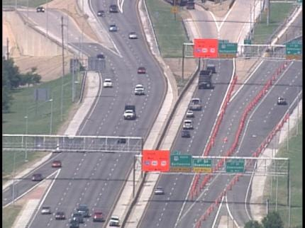 ODOT Using Smart Signs To Help Tulsa Traffic