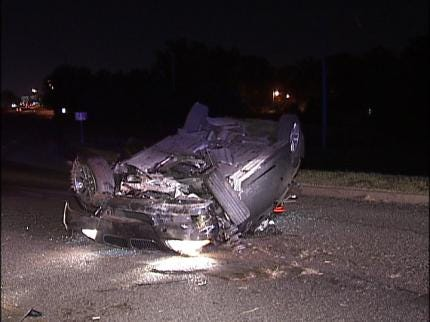 Two Drivers Injured In Single Car Accidents Sunday