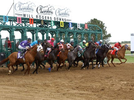 Horse Racing Returns To Claremore Track