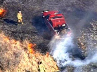 South Tulsa Co. Grass Fire