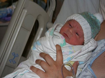 Stillwater Baby Born At 12:34:56 On 7/8/09