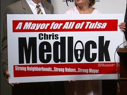 Clark Throws His Support Behind Chris Medlock