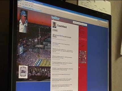 Tulsa Coach Takes On Twitter Craze