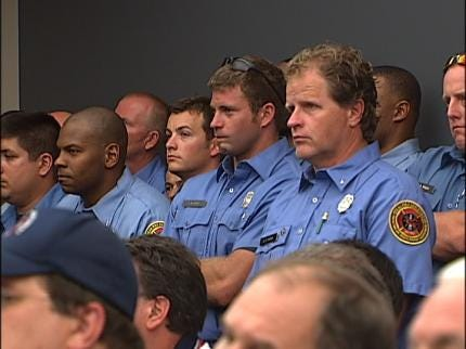 Tulsa Firefighters Respond To Furlough Days