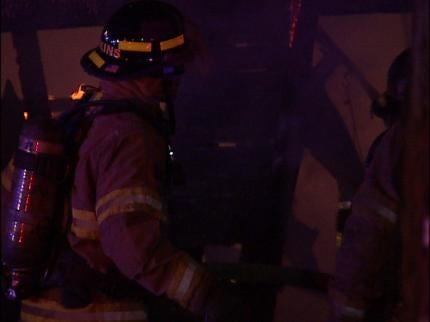 Fire Destroys Tulsa Garage