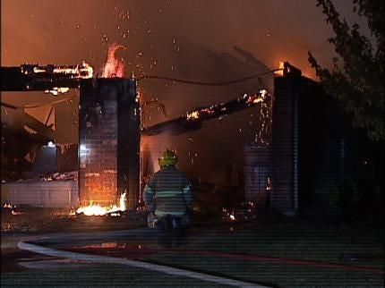Two House Fires Keep Owasso Firefighters Busy