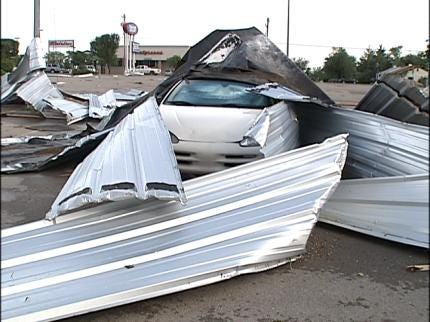 Midwest City Area Hit By Severe Weather