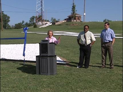 Tulsa Aviator's Arrow Restored In Reservoir Hill
