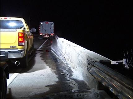 Semi Accident Shuts Down I-40 In Muskogee Co.