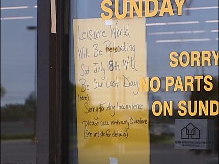 Tulsa's Leisure World Closes Doors