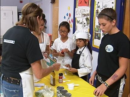 Tulsa Campers Get To Cook With Remmi