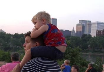 Superheroes Concert Draws Fans to River Parks Amphitheater