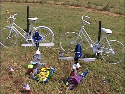 Ghost Bike Honors Fallen Cyclists