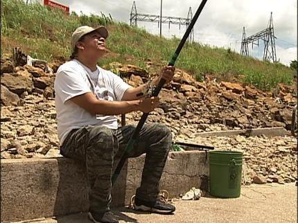 Popular Keystone Dam Fishing Spots Get Upgrades