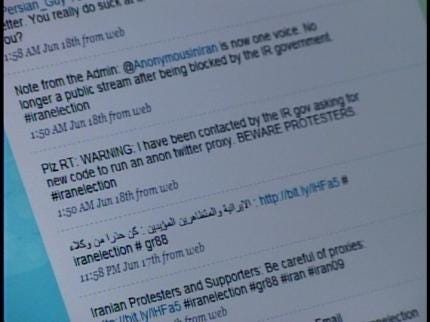 Miami Man Relays Messages From Iran To Twitter