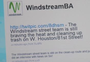 Windstream Employees Pay It Forward In BA