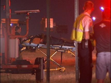 Motorcyclist Injured After Bumping SUV In Tulsa