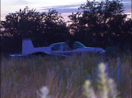 Plane Makes Emergency Landing In Glenpool Field