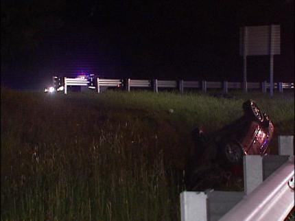 Turner Turnpike Accident Injuries One