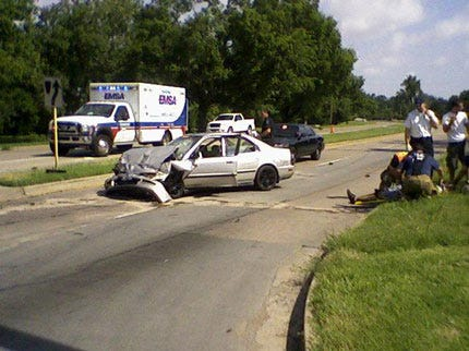 Accident Shuts Down Busy Tulsa Street