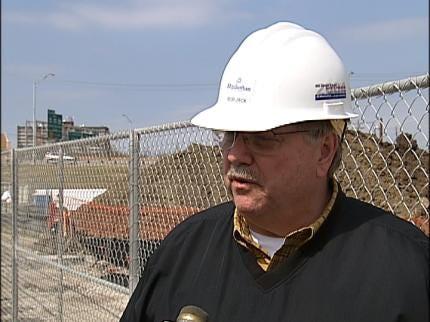 Online Camera Tracks Tulsa Stadium's Progress