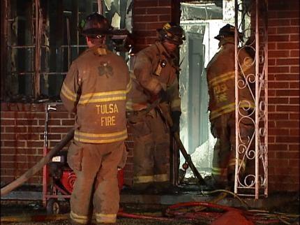 Arson Suspected In Tulsa House Fire