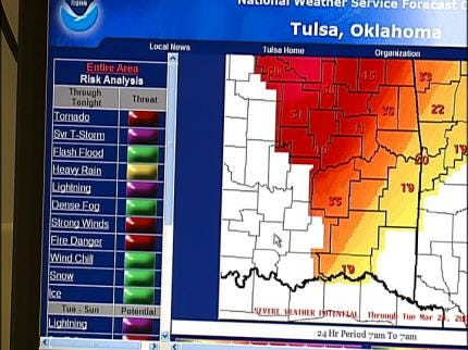 Code Red Weather Alerts Available In Sand Springs