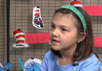 Sand Springs First Grader Finalist For Art Contest