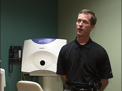 Sheriff's Office Offers Free Iris Scans