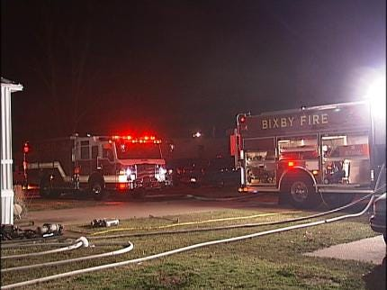 Two Overnight Tulsa Area Fires Extinguished
