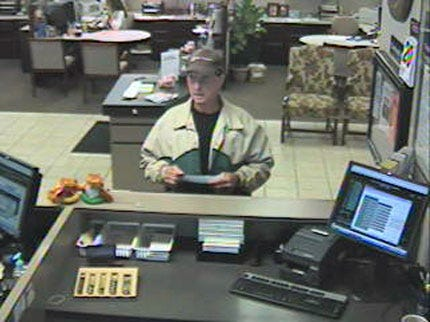Sallisaw Bank Robbery Suspect Sought