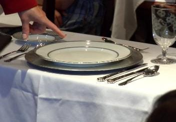 Marquette Students Take Dining Etiquette Seriously