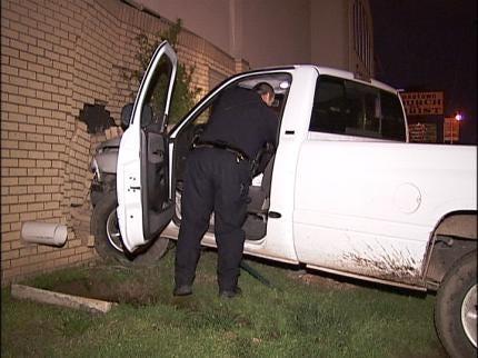 Tulsa Church Damaged In Overnight Accident