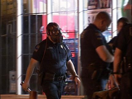 Tulsa Police Find Burglary Suspect With Pepper Spray
