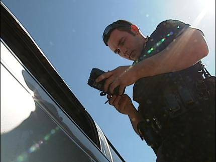 Sand Springs Police Using E-Tickets