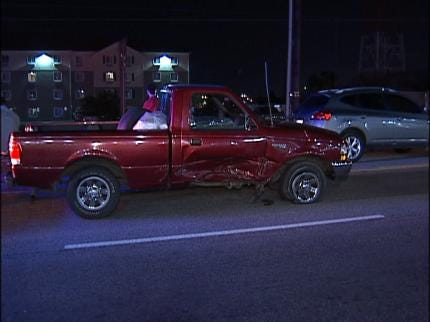 Two-Vehicle Wreck Sends Driver To Tulsa Jail